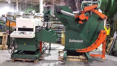 6,000lb. Capacity Sutherland Servo Feedline For Sale