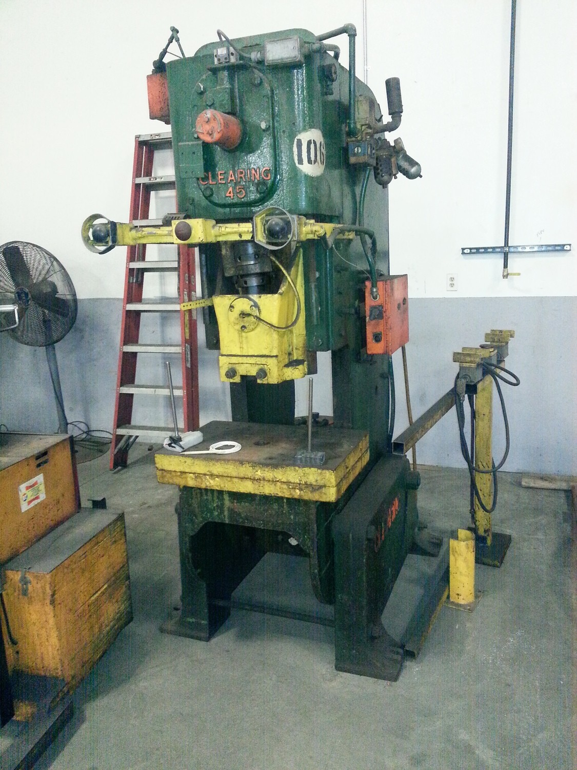45 Ton Press For Sale Clearing Press