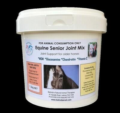 Equine Senior Joint Mix 1.5kg NEW - Inc. postage Aus Wide