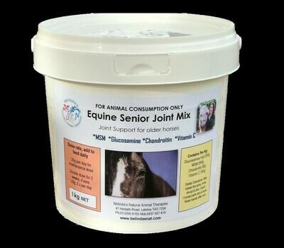 Equine Senior Joint Mix 1kg NEW -inc. postage Aus Wide