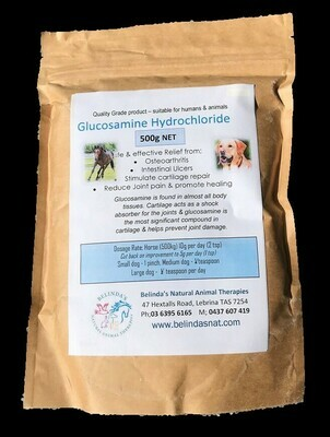 Glucosamine Hydrochloride 500g
