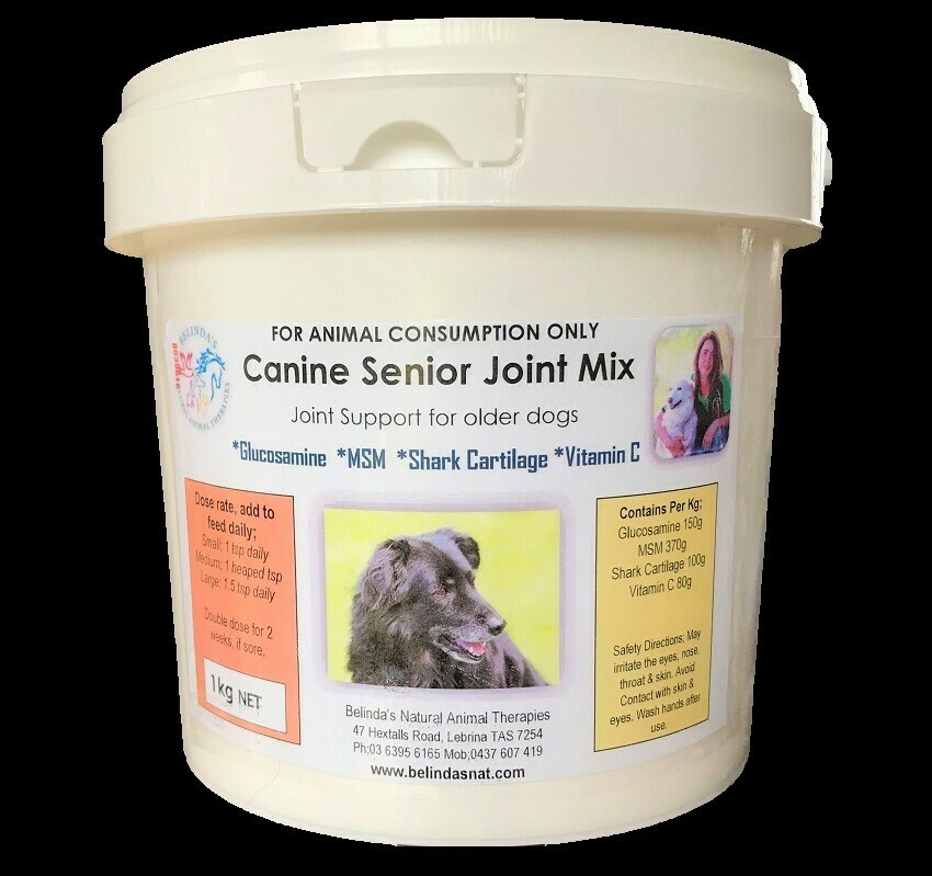 Canine Senior Joint Mix BULK 1kg NEW - Inc Postage Aus Wide