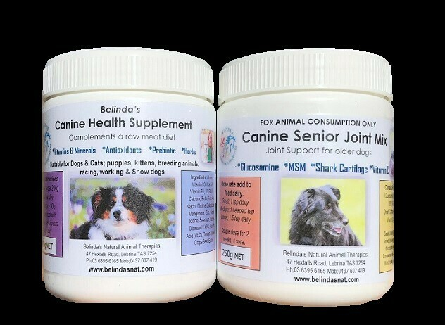 Canine Combo Inc Postage, 1 x Canine Health Supplement + 1 x Canine Senior Joint Mix