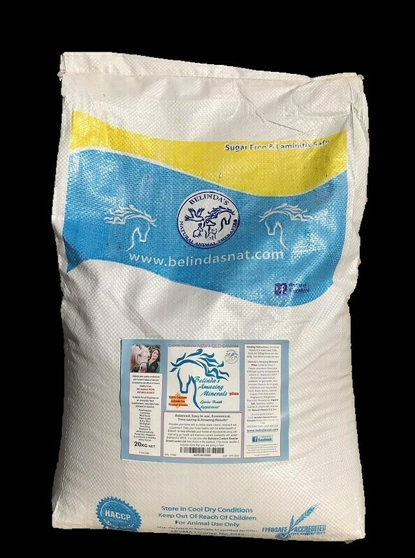 Belinda's Amazing Minerals PLUS - NSW & QLD 20kg bag - NSW & QLD orders