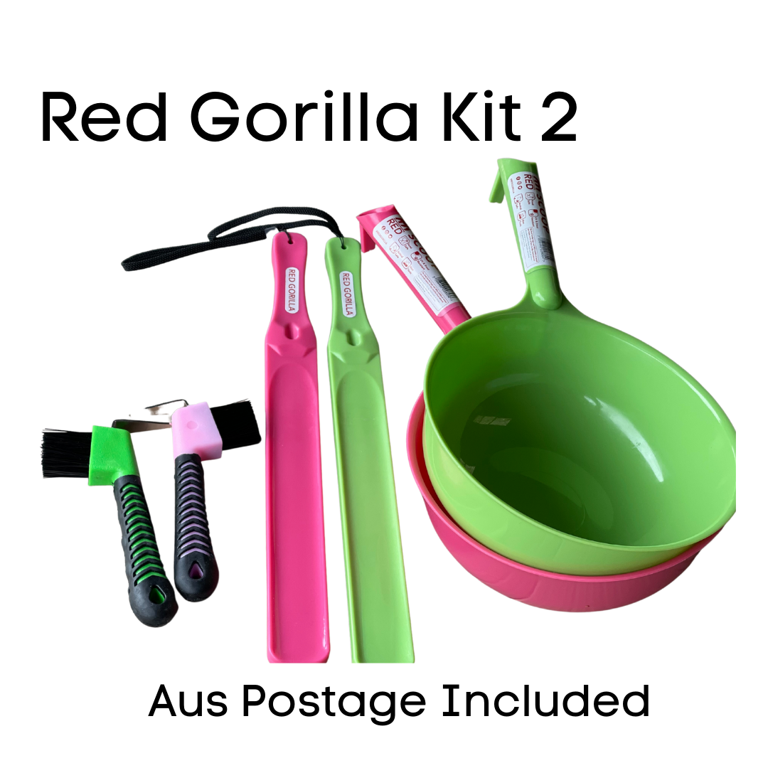 Red Gorilla Kit 2 & postage included