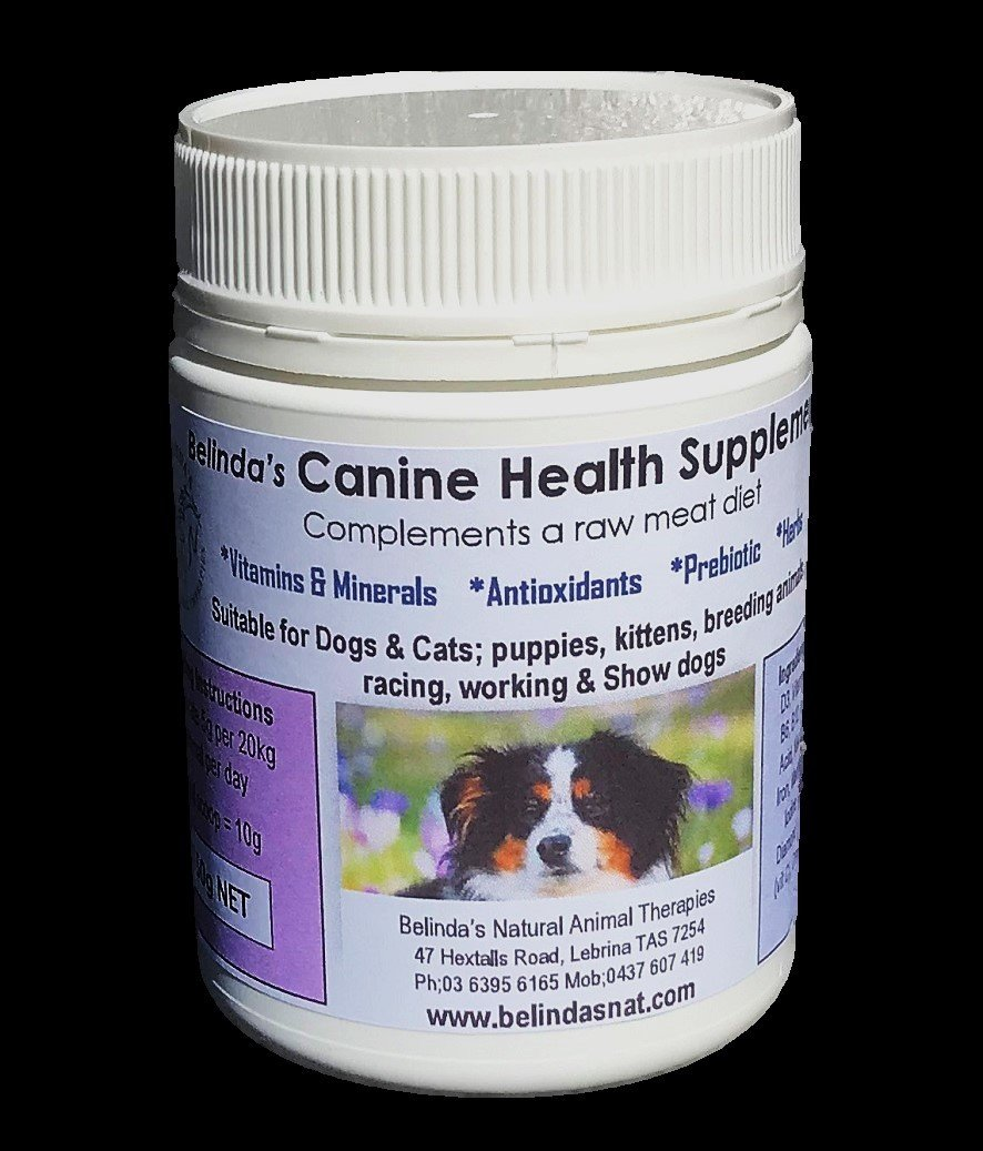 Belinda's Canine Health Supplement Small 150g NOW includes shipping Aus Wide