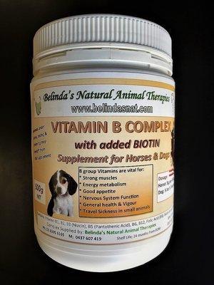 Belinda's Vitamin B Complex with Biotin 500g