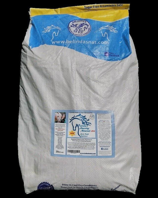 Belinda's Amazing Minerals PLUS - TAS 20kg bag