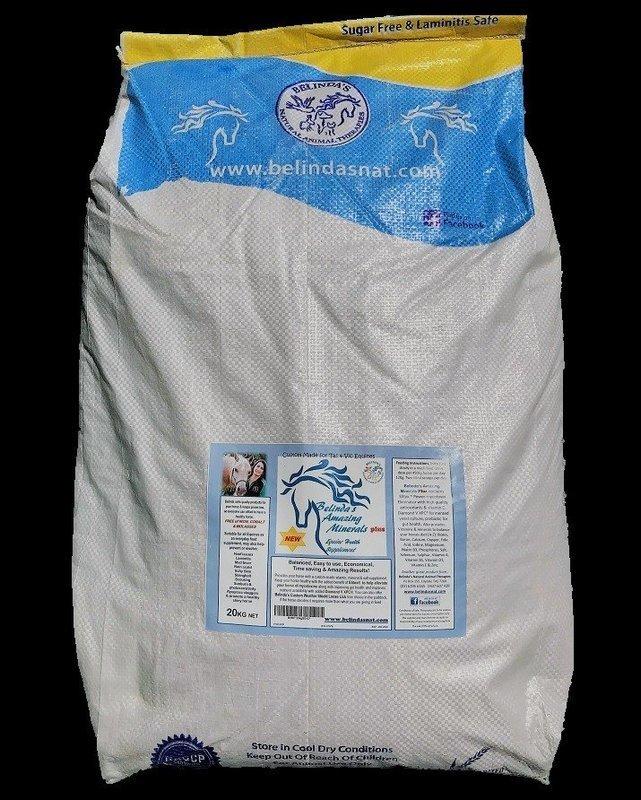Belinda's Amazing Minerals PLUS - VIC 20kg bag - Victorian orders