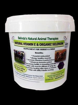 Natural Vitamin E & Organic Selenium 1kg