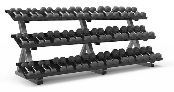 Freemotion EPIC Dumbbell Rack (Flat)