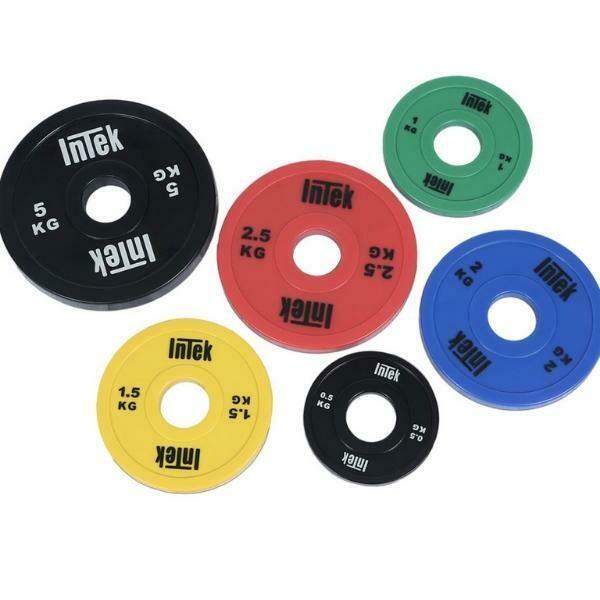 INTEK Strength Armor Series Urethane Change Plates Set