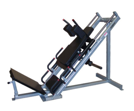 Power Body Leg Press Hack Squat, Linear Bearings