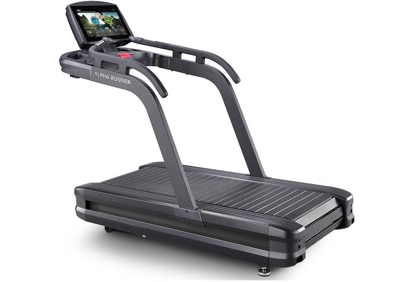 Alpha Runner Treadmill w/ 18.5″ Interactive Display
