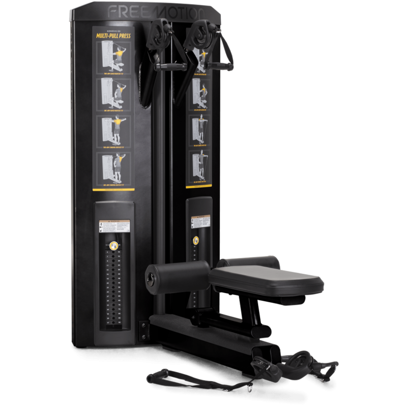 Freemotion GENESIS DS™ Multi-Pull Press