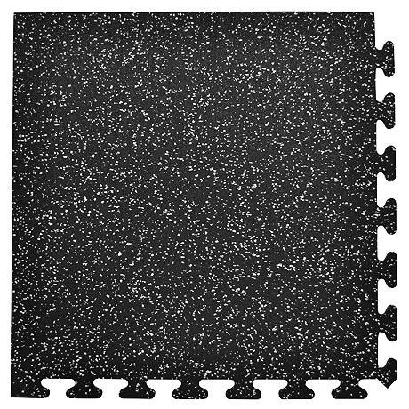 "Interlocking Rubber Tile, 2'x2'x3/8"", Corner"