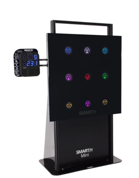 SMARTfit High Impact Mini Portable, Black