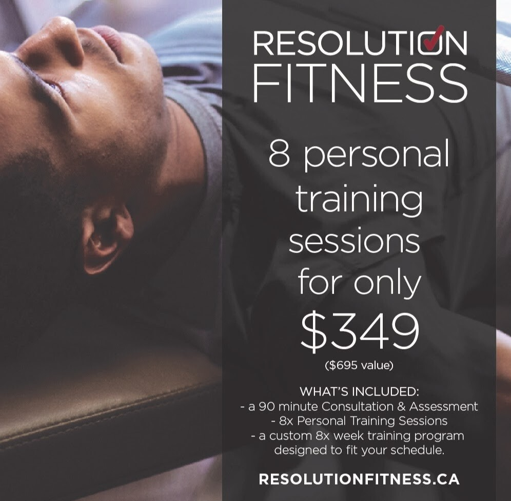 Initial Personal Training Package Promotion w/ Paul Gabay