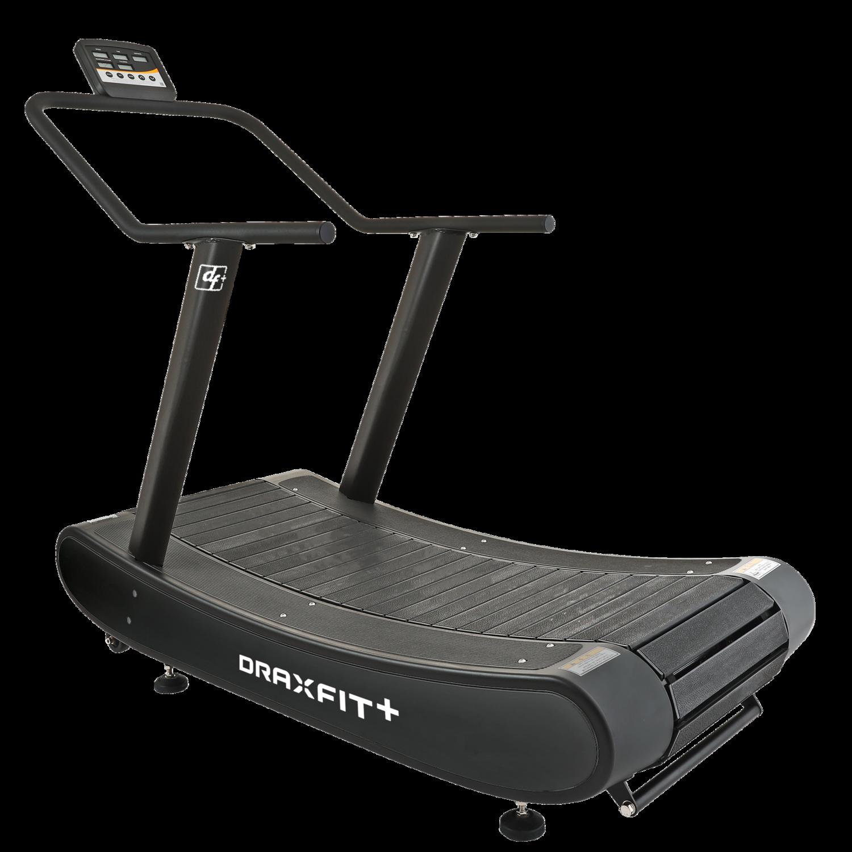DRAXFIT+ Manual Curved Treadmill