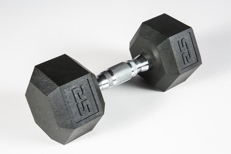 Hex Dumbbell Set, 5-50 lb