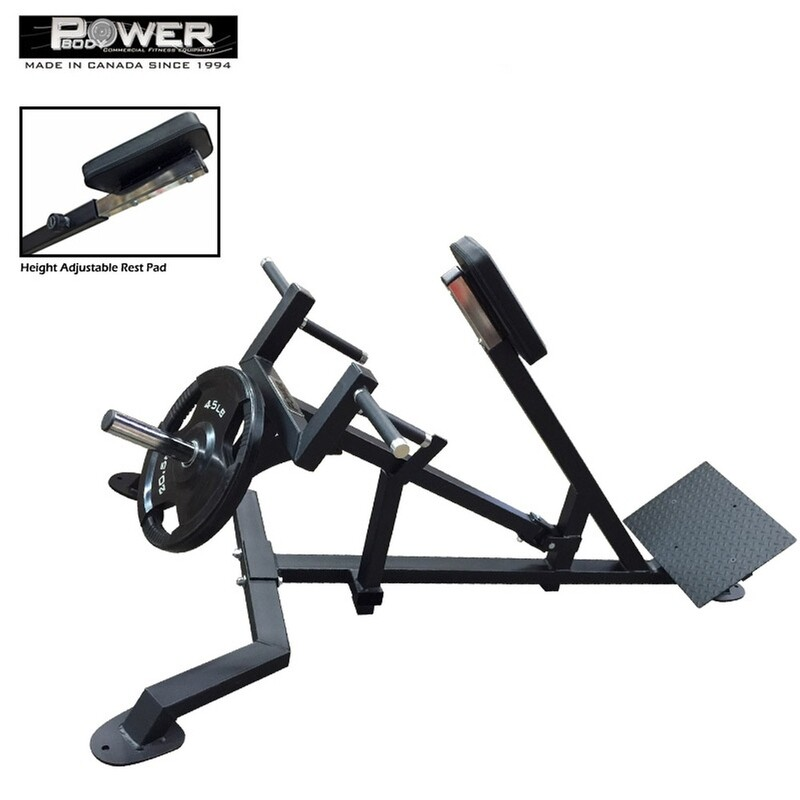 Power Body Lever Row w/ Adjustable Chest Plate