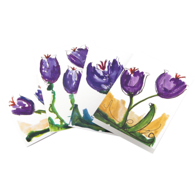 English Saffron Greeting Cards