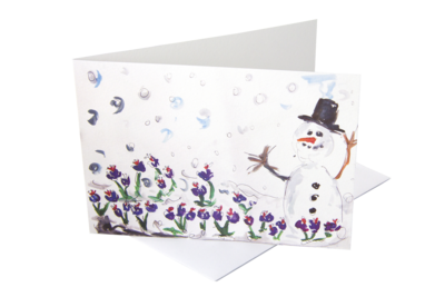 English Saffron Christmas Cards