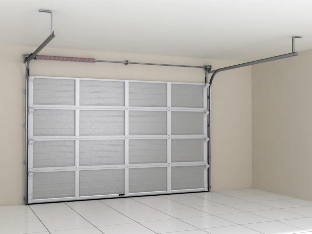 Ворота секционные (подъемные), гаражные Doorhan RSD02 SLP холодные