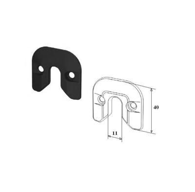Фиксатор калитки для секционных ворот