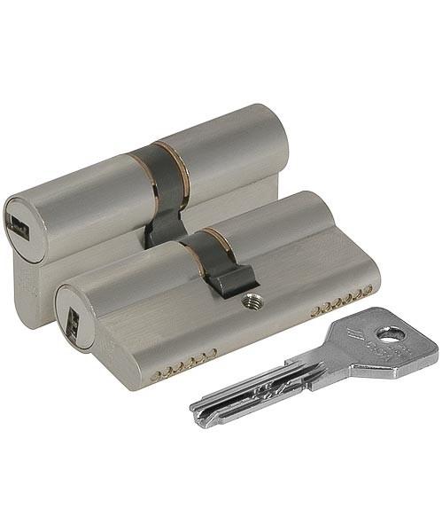 Цилиндровый механизм Cisa (Чиза) ASIX OE300-29.12 (90 мм/40+10+40), хром