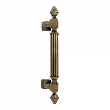 Дверная ручка-скоба IMPERO (ИМПЕРО), размер: 365 мм, межосевое расстояние 235 мм.ZERMAT
