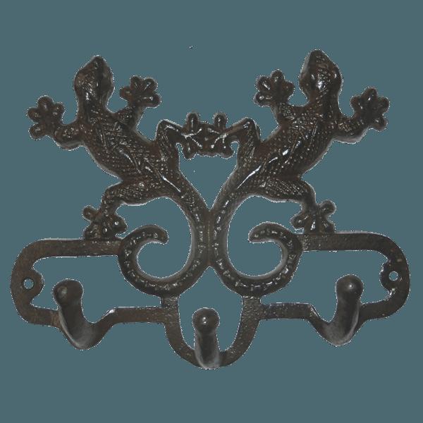 Вешалка настенная Ящерица, арт.6326