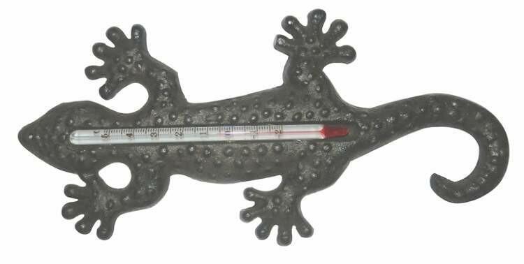 Термометр ящерица, арт. 5024, чугун