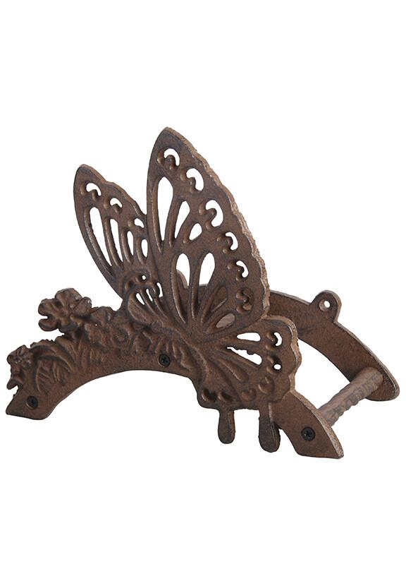 Кронштейн для садового шланга бабочка
