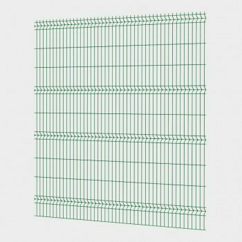 Забор 3D, сетчатый забор, Секция ОПТИМА ЛАЙТ из прутка 3,5 мм, 2535x1730 с ячейкой 55х200