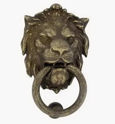 Дверное кольцо 2152 Лев Mr бронза вестерн MARTINELLI