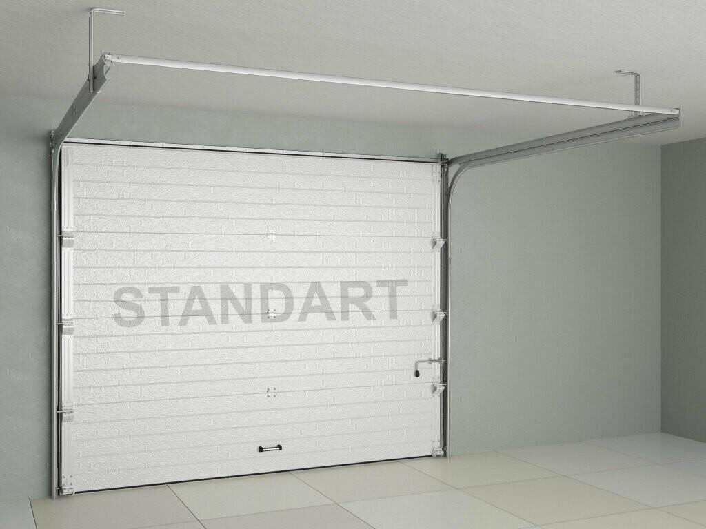 Ворота секционные (подъемные), гаражные Doorhan - cтандартные комплекты с пружинами растяжения