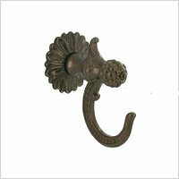 Крючок размер 62х70мм,Регале бронза, арт.560.2