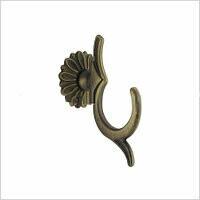 Крючок, раз. 57х90мм, матовая бронза, арт.548.15