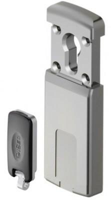 Броненакладка сдвижная магнитная Disec MG320 3W, 5 ключей, хром матовый