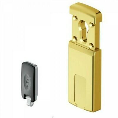 Броненакладка сдвижная магнитная Disec MG320 3W, 5 ключей, латунь