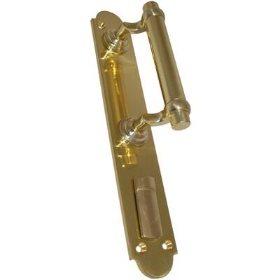 Ручка дверная РДС-1 /правая/ латунь полир. шторка
