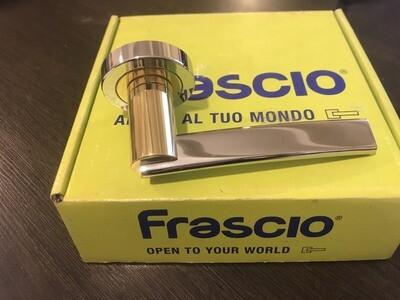 Ручка раздельная 813/50 латунь/хром Frascio