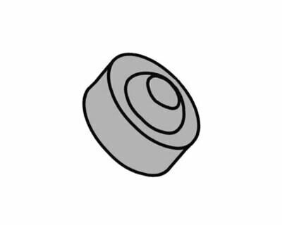 Шарнир шаровый опоры гидроцилиндра шлагбаумов 610, 615 серий, 7073045