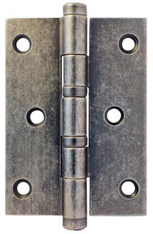 Петля универсальная 102х76 античная серебро zermat
