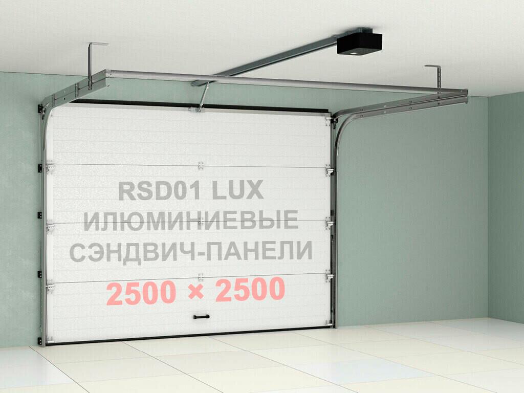 Гаражные секционные ворота Doorhan 2500×2500 RSD01LUX