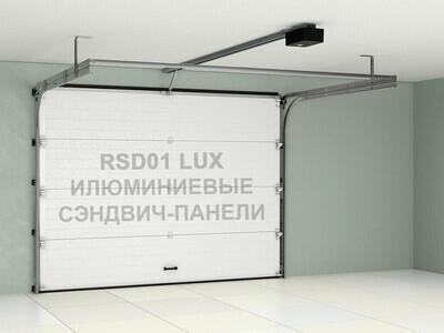 Гаражные секционные ворота Doorhan 2500×2300 RSD01LUX
