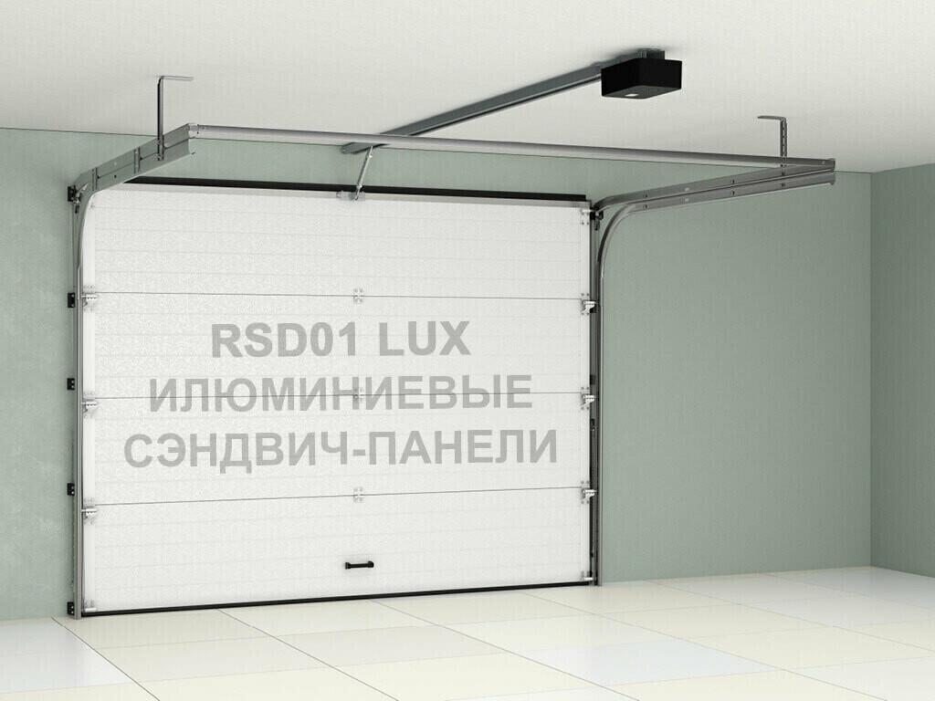 Гаражные секционные ворота Doorhan 2800×2300 RSD01LUX