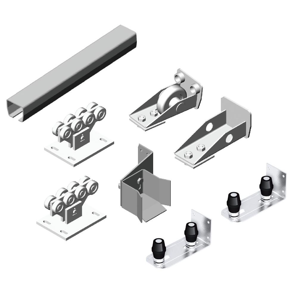 Система роликов и направляющих с балкой х/к 71х60х3,5