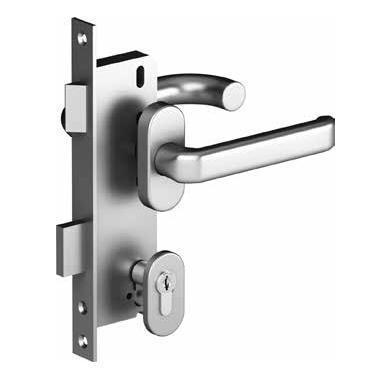 Комплект замка со штифтом на 8 мм  для врезной калитки,25148-2NL, арт.25148